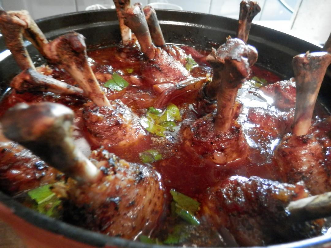 Kippenpootjes uit de pan